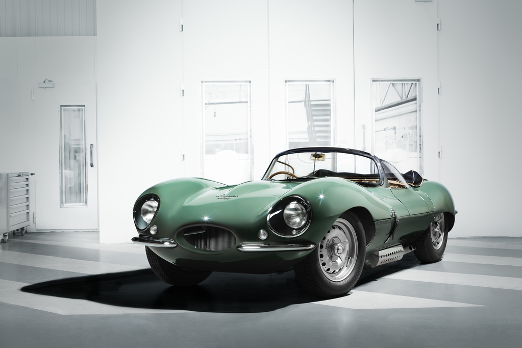 The reborn Jaguar XKSS